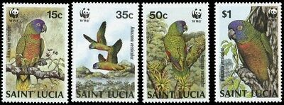 1987, St. Lucia, 909-12, **