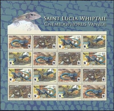 2008, St. Lucia, 1275-78 KB ZD, **