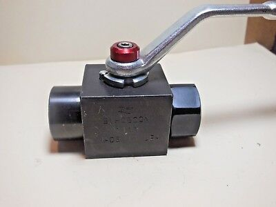 "Dmic  Bvh0500N1111  1/2""  Valve, 7500 Psi Max , Made In Usa"