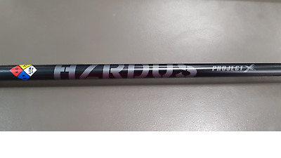 Project X Hzrdus Black Shaft, 75 Gram, 6.0, Low Spin - Callaway Tip Fitted