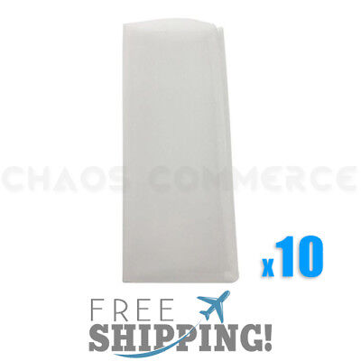 "45 Micron Rosin Press Filter Bags Rosin Screen Bag Filter - 2"" x 4.5"" - 10 Pack"