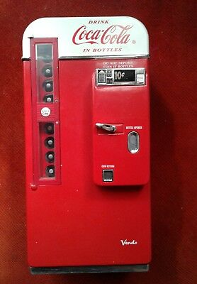 Coca Cola mini fridge bank