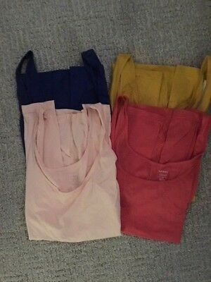 Old Navy 4 NEW Fitted Tanks Women's Size Medium