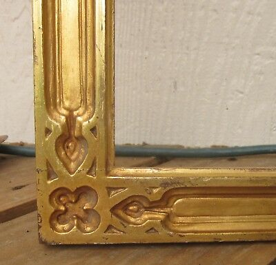 c1920 RARE Large Foster Bros BOSTON School DECO ARTS CRAFTS NOUVEAU Gilded Frame