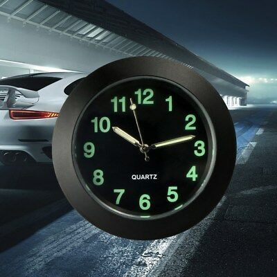 Car Auto Dash Clock Air Vent Clock Car Noctilucent Quartz Watch