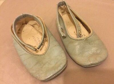 Vintage Baby Shoes - Baby Blue