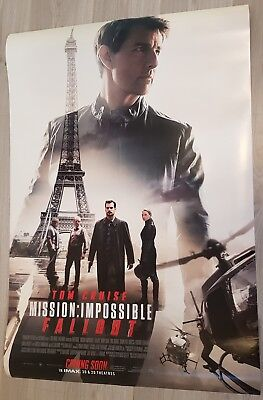 MISSION IMPOSSIBLE FALLOUT (2018) - POSTER 27x40 DS ORIGINAL