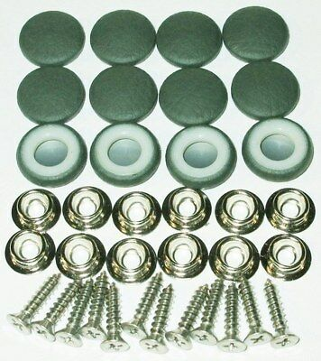 25 Dura Snap Upholstery Buttons Platinum Gray Choice Of Size And