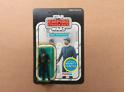 Vintage Star Wars 1981 ESB, Bespin Security Guard, (unpunched)