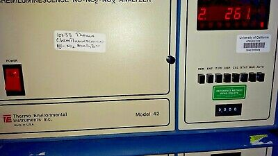 Thermo Environmental Systems  Analyzer Non Chemiluminescent 42 10224/gr