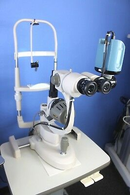 Marco G2 Ultra Slit Lamp on Rolling Stand w/Ophthalmic Imaging Winstation 3200