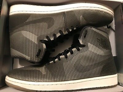 save off 50e4a 15fff Nike Air Jordan 4Lab1 Black Reflect Silver 3M Reflective 677690-012 Size 13  Used