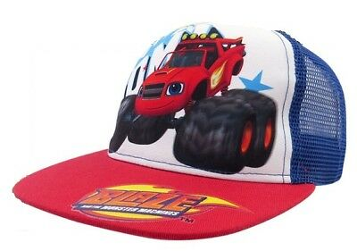 Blaze And The Monster Machines Adjustable Hat Baseball Cap Cotton