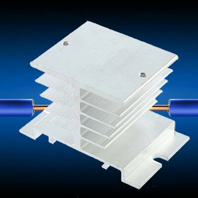 New Aluminum Heat Sink For Solid State Relay SSR Small Type Heat Dissipation DE