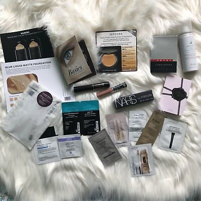 Sephora Playbox makeup skin care lipstick travel and sample products
