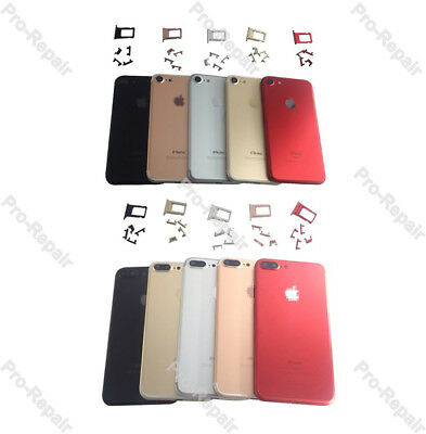 For iPhone 7 iPhone 7 Plus Battery Back Door Metal Housing Cover Replacement