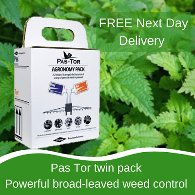 PasTor NEW PASTOR PADDOCK WEED KILLER PRODUCT TWIN PACK