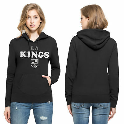 NHL Los Angeles Kings 47 Headline Eishockey Hoodie Sweatshirt Kapuzenpulli Damen