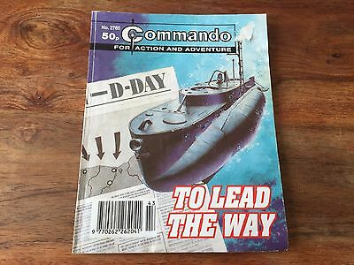 Commando comics book no: 2765 To lead the way - war stories comic book pictures