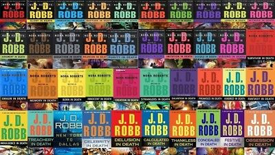 43 Audiobooks - The JD Robb - Nora Roberts In Death Series Books Collection mp3