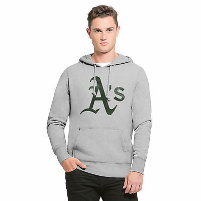 MLB Oakland Athletics 47 Headline Jogging Hoodie Sweatshirt Kapuzenpulli Herren