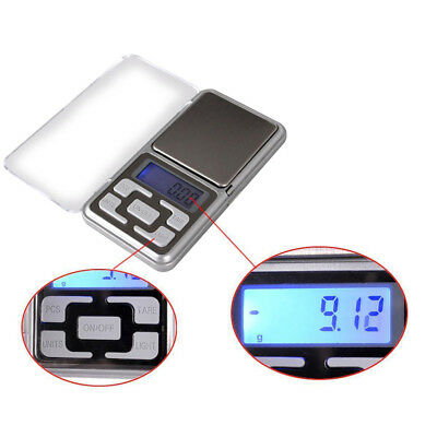 Digital Scales 0.01g x 200g Mini Pocket LCD Jewelry Gold Balance Weight Gram US