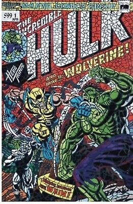 HULK #181 SHATTERED VARIANT The Hunt for Wolverine #1 NM Hot! In Hand!!!