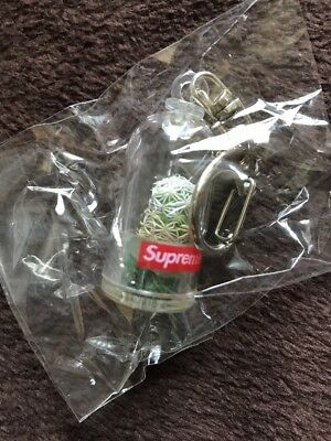 Supreme Cactus Key Chain SS18 SUPER FAST SHIPPING BOGO 100% AUTHENTIC YEEZY BAPE