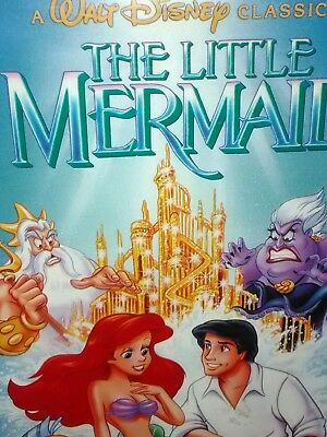 Black Diamond **Banned Cover** The Little Mermaid (VHS, 1990)