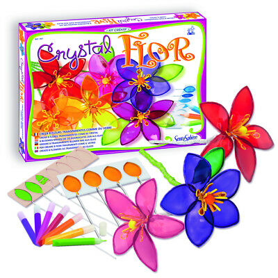 Sentosphere Make Your Own Crystal Flowers - Arts and Crafts for Kids