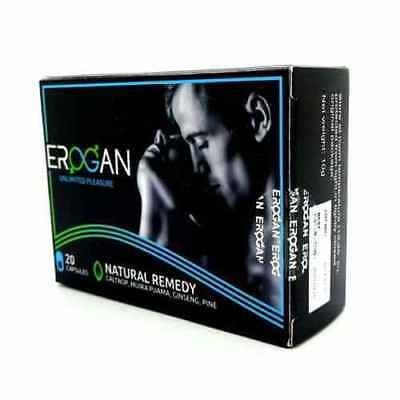 Erogan,For Promotion of Male Sexual Function,20 Capsules
