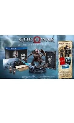 Brand New God of War Collector's Edition For PS4