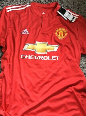 Adults Manchester United Home Shirt 2017-18 XL