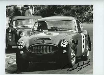 Paddy Hopkirk Austin Healey 3000 Guards 1000 Brands Hatch 1965 Signed Photograph