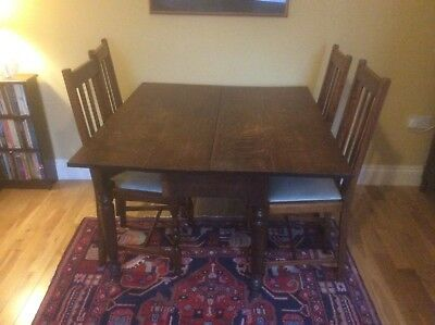 Dining table oak probably Edwardian