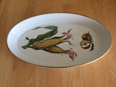 Royal Worcester Evesham Oven To Tableware Oval Dish