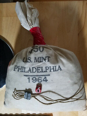 1964-P Lincoln Memorial Cent $50.00 Mint Bag!!!