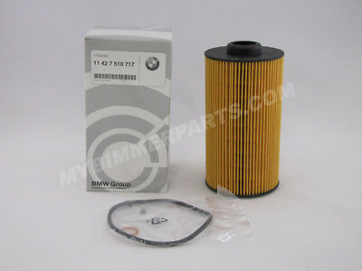 Set of 10 Hengst Brand Oil Filters for BMW 11427510717