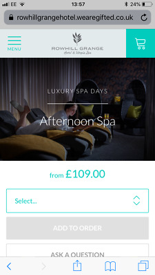 Half Spa Day Experience