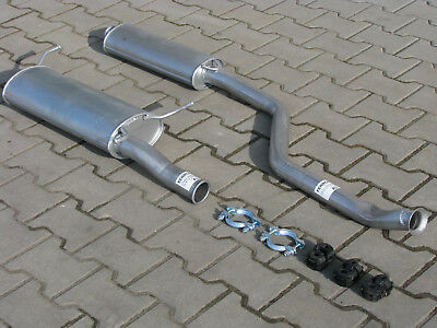DNFIG10 4001 Full Exhaust System with 2 YEAR WARRANTY