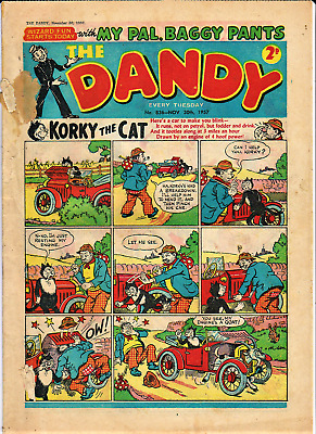 DANDY # 836 November 30th 1957 The comic issue