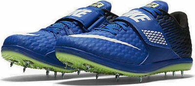 18f24f73bf727 NEW MENS NIKE Zoom Rival D9 Track Spikes Style 806559-100 White Blue ...