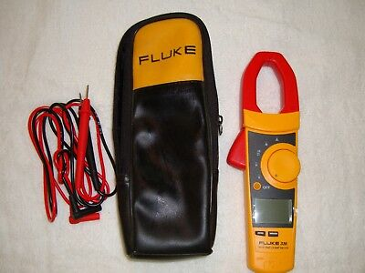 Fluke 336 TRMS 600 Amp AC/DC Current Clamp Meter W/ Leads Excellent condition