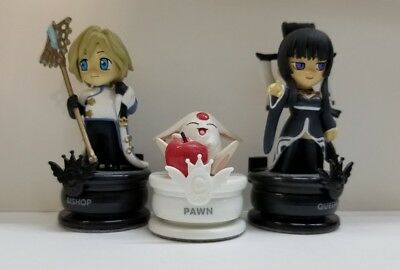 Clamp No Kiseki Vol 10 Chess grouping 3 Piece Queen Bishop Pawn