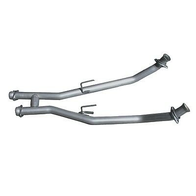 Exhaust Crossover Pipe-High-Flow Full H-Pipe Assembly fits 96-98 Mustang 4.6L-V8