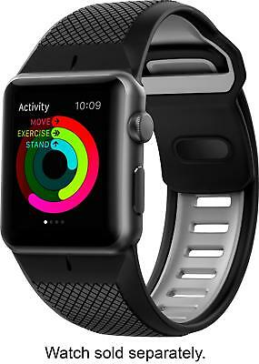 Open-Box Excellent: Nomad - Sport Watch Strap for Apple Watch42mm - Slate g...