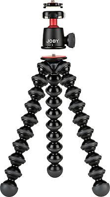 Open-Box Excellent: JOBY - GorillaPod 3K Kit Tripod - Black/red/charcoal