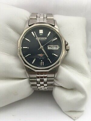 Citizen Men's Automatic 21 Jewels Day/Date Automatic Blue Dial Watch