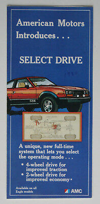 AMC AMERICAN MOTORS Select Drive 1981 brochure - English - Canada - ST501000318