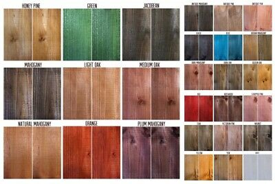 Morrells Water Based Wood Stain/Wood Dye Solvent Free Low VOC 26 colours